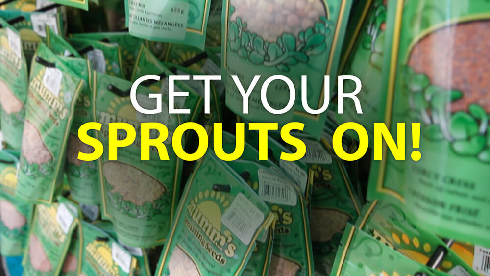 Get Your Sprouts on